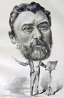 Julius Tausch, von Ernst Bosch im Künstlerverein Malkasten, Düsseldorf (Quelle: Wikimedia)