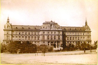 Palace of Justice, Vienna - The Palace in 1881
