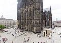 Kölner Dom Westseite und Domplatte-1423.jpg