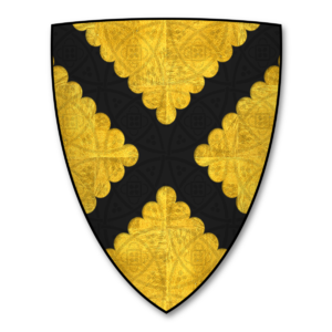 """John de Botetourt, 1st Baron Botetourt - Image: K 046 Coat of Arms BOTETOURT John Botetourt (""""Johans Boutetourte"""")"""