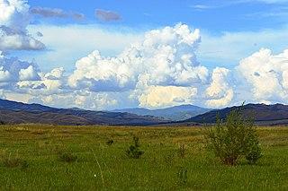 District in Tuva Republic, Russia