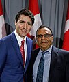 Kacee Vasudeva with The Honourable Prime Minister of Canada Mr. Justin Trudeau.jpg