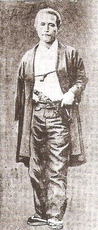 Katsu Kaishū - Katsu Kaishū (as Katsu Yasuyoshi) in western clothing