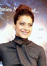Kajol at Dilwale press conference.jpg