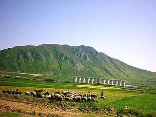 County in Golestan Province, Iran