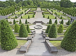 Terraced gardens of Kamp Abbey