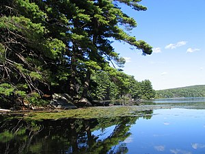 Palisades Interstate Park Commission - Lake Kanawauke in Harriman State Park.
