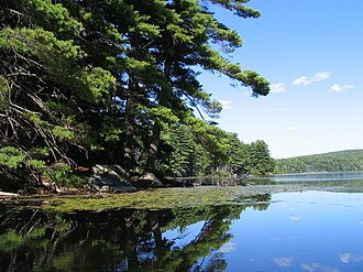 Harriman State Park (New York) - Lake Kanawauke