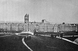 Kankakee State Hospital - The hospital in 1893
