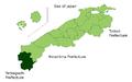 Kanoashi District in Shimane Prefecture.png