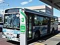 Kanto Railway Bus 9398MR at Moriya Station.jpg