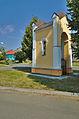 Kaplička se sochou Panny Marie v Očekávání, Třebčín, Lutín, okres Olomouc (03).jpg