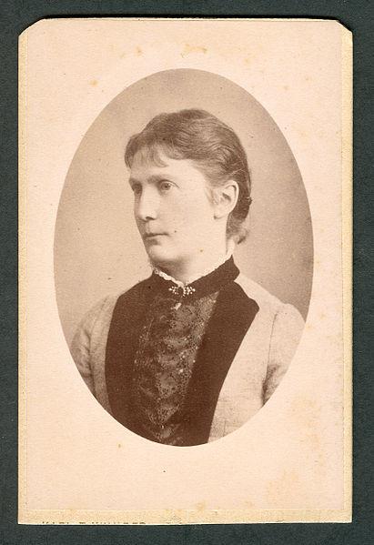 File:Karl Friedrich Wunder CDV Kretschmer, Marie Ansichtsseite.jpg