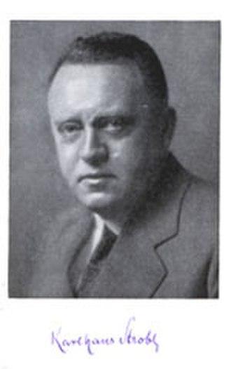 Karl Hans Strobl - Karl Hans Strobl