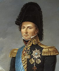 Karl XIV Johan, king of Sweden and Norway, painted by Fredric Westin (cropped).jpg