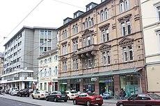 Karlsruhe, Häuserzeile in der Karlstraße.JPG