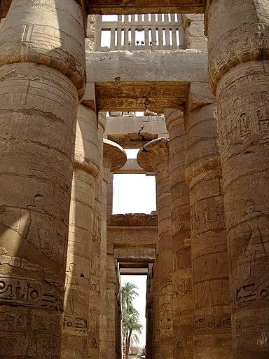 Karnak Tempel Hypostyl 07