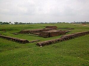 Karnasuvarna - Remains of Raktamrittika Vihara, c. 600 CE