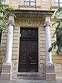 Karolina Elementary School. Gate. - 7., Konstantin Sq., Vác.JPG
