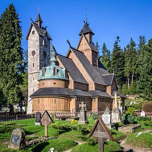 Karpacz - Vang stave church in Karpacz