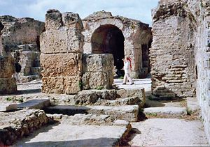 Ancient Rome and wine - The ruins of Carthage. When the city was destroyed, one of the few items that the Romans saved was the agricultural works of Mago.