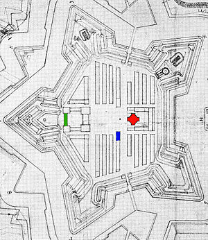 Henrik Rysensteen - Plan for the Copenhagen Citadel