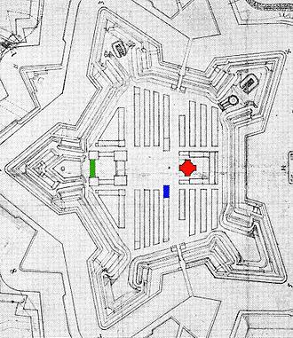 Henrik Rysensteen - Plan for the Copenhagen Citadel