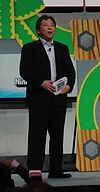 Katsuya Eguchi at E3 2012 Nintendo Conference (cropped).jpg