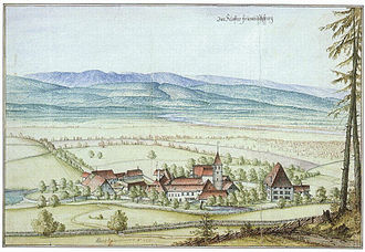 Seedorf, Bern - Frienisberg Abbey in 1670