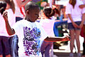 Kavyion Hicks, flails his arms and shuffles his feet as he dances during the 18th annual Kids First Fair hosted by Marine and Family Programs at the Paige Field House, Marine Corps Base Camp Pendleton, Calif 130427-M-IQ377-013.jpg
