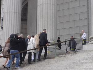 Kesha - Kesha arrives at the New York Supreme Court in lower Manhattan for proceedings in a lawsuit against Dr. Luke, February 19, 2016.