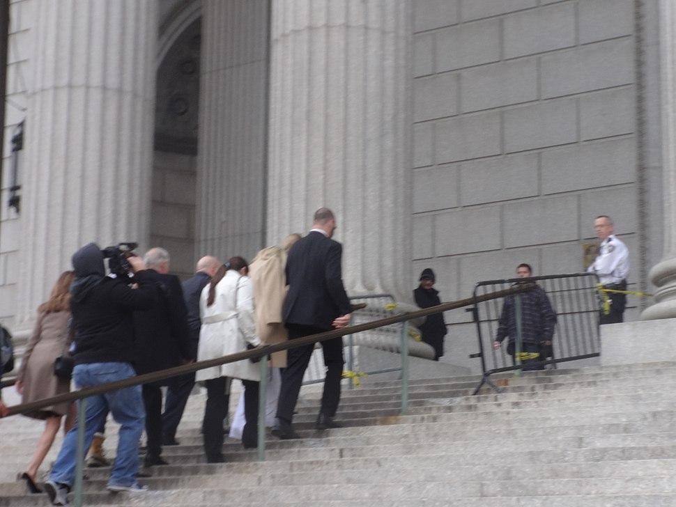 Ke$ha arrives at New York State Supreme Court, Manhattan