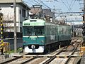 Keihan 700 series set 701 Ishiyamadera 20060315.jpg