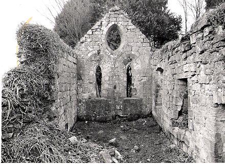 キースマリシャルの礼拝堂の遺跡。 アグネスサンプソンはこの建物を知っていただろう