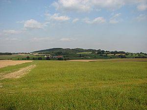 Kemmelberg - Kemmelberg seen from the west