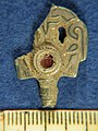 Kent-020610. Early Medieval. Probable Dress Accessory-Hair adornment. Pin head only. Side A. (FindID 194031).jpg