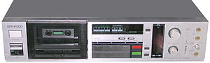 Kenwood Corporation - XX880SR audio cassette tape recorder