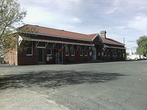 Kerang railway station - Image: Kerang railway station building