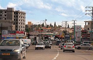 Kafr Yasif - A street scene in Kafr Yasif, 2006