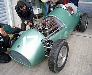 Kieft Cars - Although best known for their F3 designs, Kieft did design a Formula One car. It had to wait until 2002 to make its race debut.