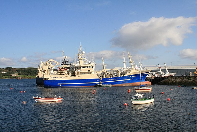 Fishing trawler SO 716 Sheanne in Killybegs Harbor. Photo by Andreas F. Borchert.