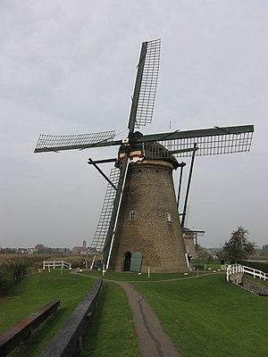 Windmills at Kinderdijk - Nederwaard Mill No.2