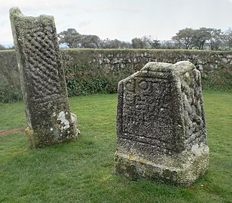 Dumnonia - King Doniert's Stone in Cornwall, believed to commemorate Donyarth, the last recorded king of the rump state of Dumnonia