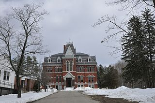 Sanborn Seminary historic educational facility in Kingston, NH