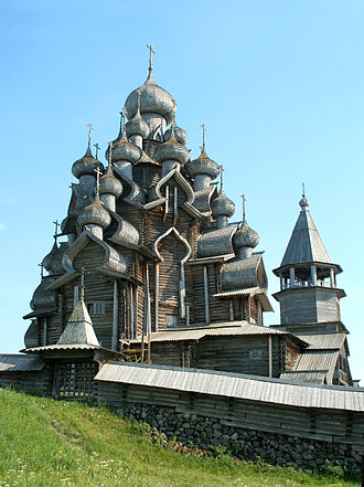 Tourism in Russia - Kizhi in north-west Russia