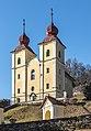 Klagenfurt Villacher Vorstadt Kreuzbergl Kalvarienbergkirche 29012018 2419.jpg