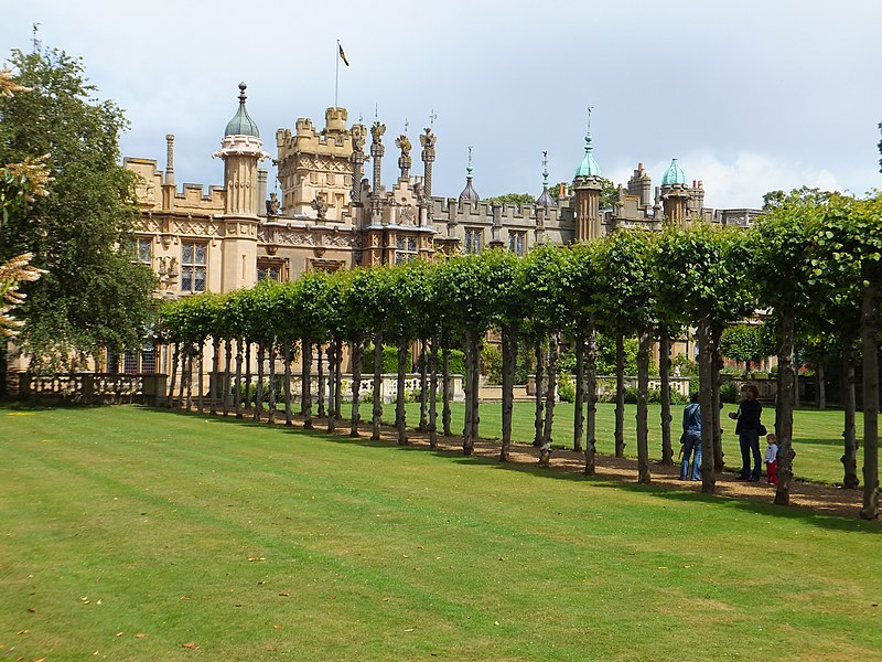 Knebworth House.