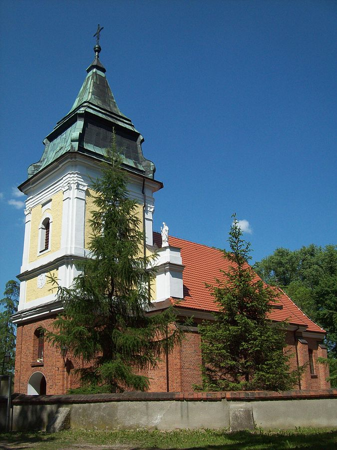 Holy Cross Church, Bieganowo