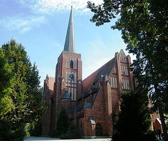 Kluczbork - Church of St. Mary of Help