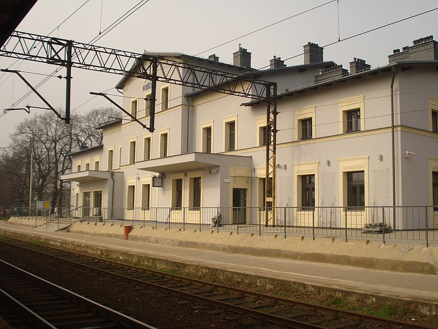 Kościan railway station